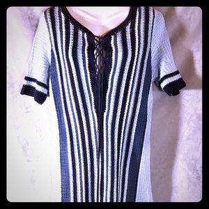 *SALE* Free People Striped Sweater Dress, Med